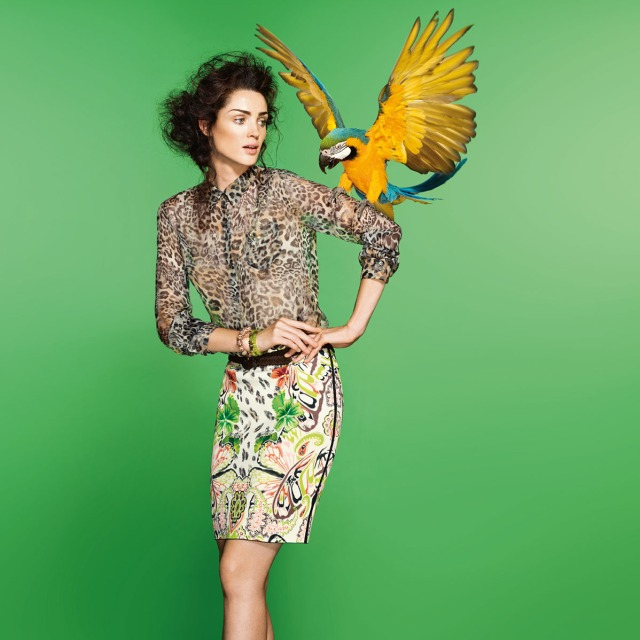 Marc Cain parrot