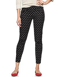 Super skinny anchor print pants - anchor