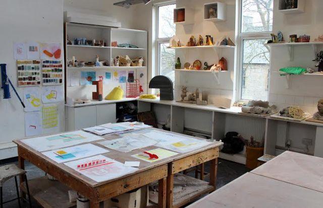 Cazza's studio