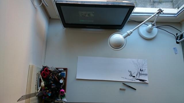 Joseph's desk