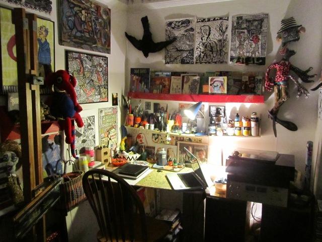 Bryony's workspace