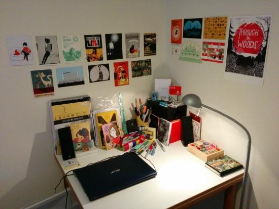 Alexis' desk
