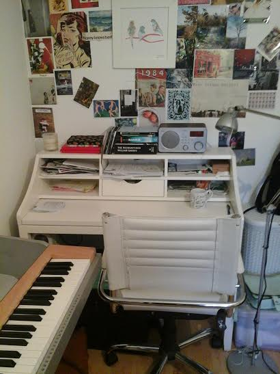 Finbarr's desk