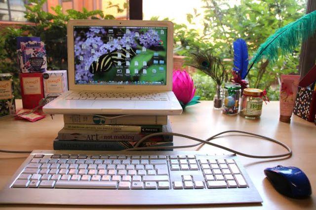 Hannah Stuart-Leach's desk
