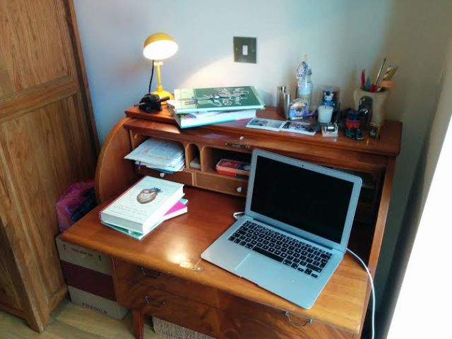 Jenn's desk