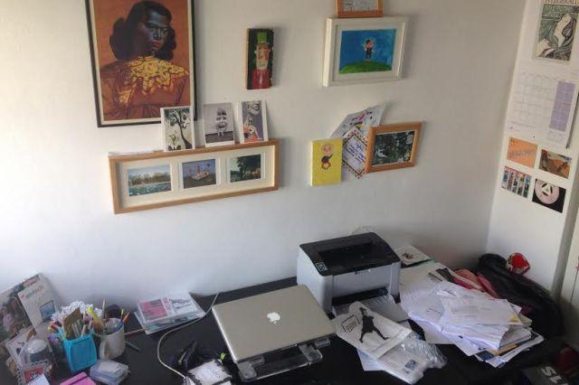 Nina's desk
