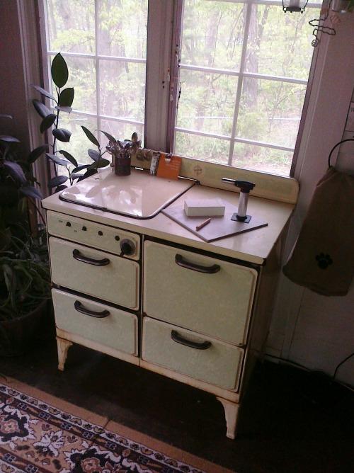 Carolyn Jones' workspace