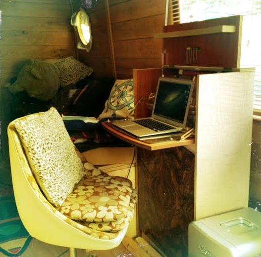 Ellis' desk