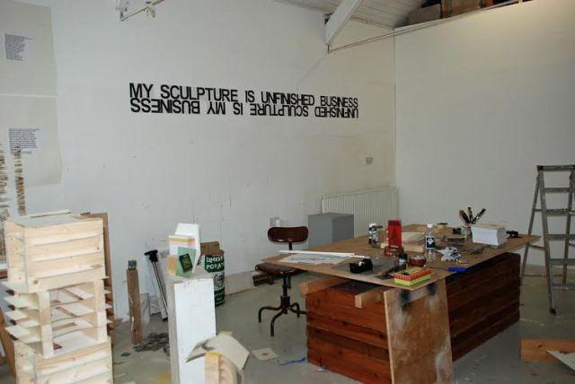 John Plowman's workspace