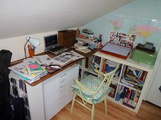 Aisling's desk