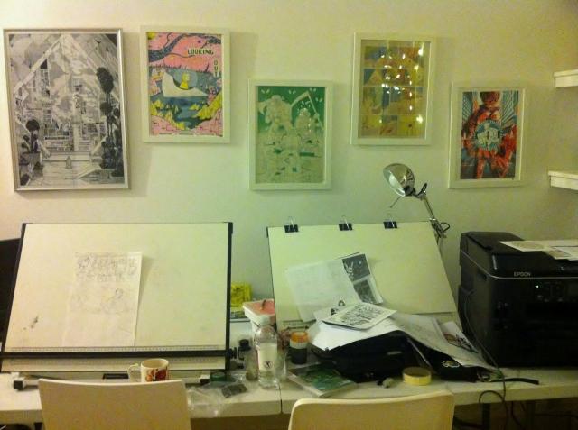 Alice's desk
