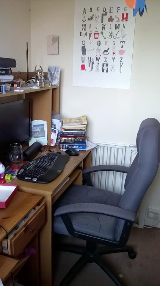 Poppy's desk