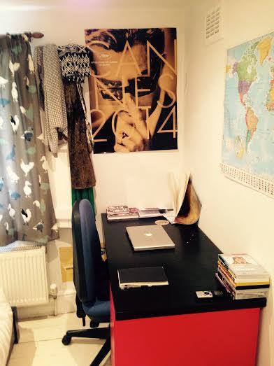 Sophie's desk